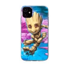 Kryt MARVEL pro Apple iPhone 11 - malý Groot - gumový