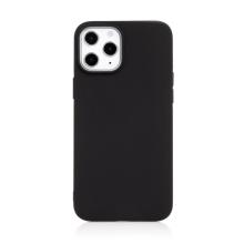 Kryt pro Apple iPhone 12 Pro Max - gumový - černý