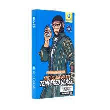 Tvrzené sklo (Tempered Glass) Mr.MONKEY pro Apple iPhone 12 mini - přední - matné - 2,5D - 0,3mm