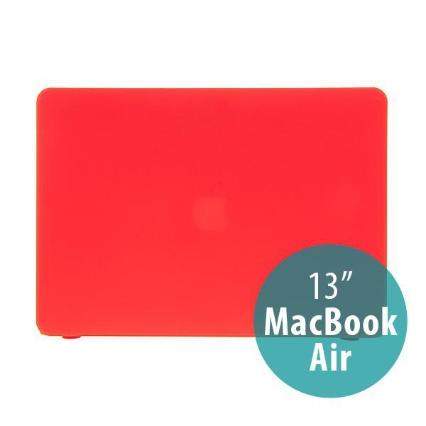 Tenký ochranný plastový obal pro Apple MacBook Air 13.3 - matný - červený