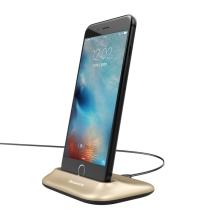Dock / Dokovací stanice BASEUS pro Apple iPhone - konektor Lightning - zlatá