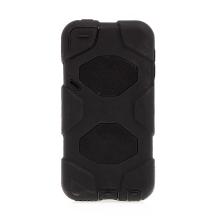 Kryt / pouzdro pro Apple iPod Touch 5 / 6 - outdoor - odolný - plast / silikon - černý