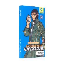 Tvrzené sklo (Tempered Glass) Mr.MONKEY pro Apple iPhone 12 / 12 Pro - přední - matné - 2,5D - 0,3mm