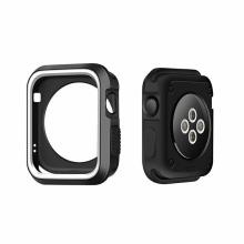 Kryt / rámeček pro Apple Watch 38mm 1 / 2 / 3 series - sportovní - silikonový