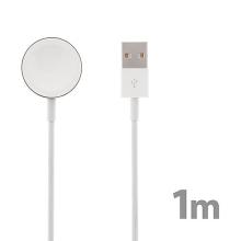 Magnetický nabíjecí kabel USAMS pro Apple Watch 38mm / 40mm a 42 / 44mm - 1m - kvalita A+