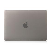 """Obal / kryt pro MacBook Air / Air M1 (2018-2021) 13"""" (A1932, A2179, A2337) - plastový - šedý"""