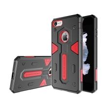 Kryt Nillkin pro Apple iPhone 7 / 8 - odolný - plast / guma - červený / černý