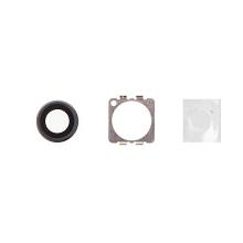 Krycí sklíčko zadní kamery Apple iPhone 6 / 6S - vesmírně šedé (Space gray) - kvalita A+