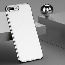 Kryt USAMS Starry pro Apple iPhone 7 Plus / 8 Plus - lesklé třpytky - plastový - bílý / stříbrný