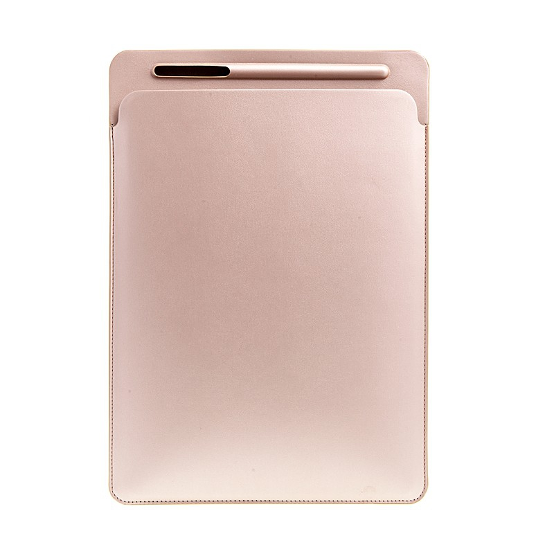Pouzdro / obal pro Apple iPad Pro 12,9 / 12,9 (2017) - kapsa na Apple Pencil - umělá kůže - zlaté