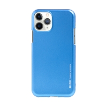 Kryt MERCURY iJelly pro Apple iPhone 11 Pro Max - gumový - matný - modrý