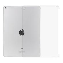 Kryt pro Apple iPad Pro 12,9 / 12,9 (2017) - výřez pro Smart Cover - gumový - průhledný