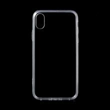 Kryt pro Apple iPhone Xr - plastový / gumový - průhledný