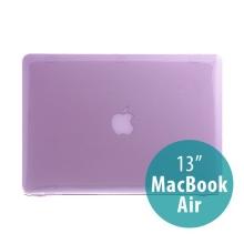 Tenký ochranný plastový obal pro Apple MacBook Air 13.3 - lesklý - fialový