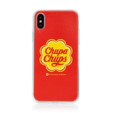 Kryt pro Apple iPhone X / Xs - gumový - Chupa Chups