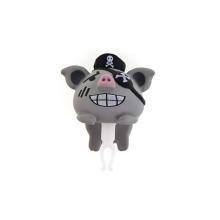 Antiprachová záslepka na jack konektor pro Apple iPhone a další zařízení - pirate pig