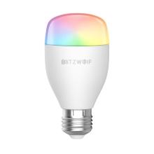 Žárovka smart LED / chytrá žárovka BLITZWOLF - WiFi + ovladač - závit E27 - barevná