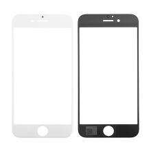 Náhradní přední sklo pro Apple iPhone 6S - bílý rámeček - kvalita A