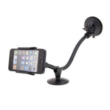 Univerzální 360° otočný držák do auta pro Apple a další zařízení - flexibilní rameno a přísavka (sada 2ks držáků) - černý