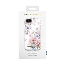Kryt iDeal of Sweden pro Apple iPhone 7 / 8 / SE (2020) - glamour květiny - plastový - bílý