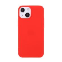 Kryt pro Apple iPhone 13 - gumový - červený