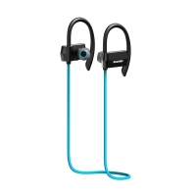 Sluchátka HAWEEL sportovní Bluetooth 4.1 s ovládáním a mikrofonem - modrá