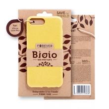 Kryt FOREVER BIOIO - pro Apple iPhone 6 Plus / 6S Plus - Zero Waste kompostovatelný kryt - žlutý