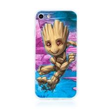 Kryt MARVEL pro Apple iPhone 7 / 8 / SE (2020) - malý Groot - gumový