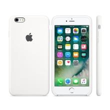 Originální kryt pro Apple iPhone 6 / 6S - silikonový - bílý