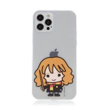 Kryt Harry Potter pro Apple iPhone 12 Pro Max - gumový - Hermiona - průhledný