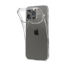Kryt SPIGEN Liquid Crystal pro Apple iPhone 13 Pro - gumový - průhledný