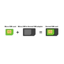Redukce Micro SIM na standardní SIM kartu Noosy