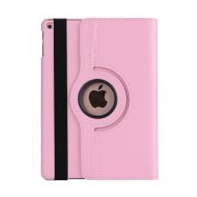 Pouzdro pro Apple iPad Air 1 / Air 2 / 9,7 (2017-2018) - 360° otočný stojánek - růžové
