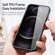 Kryt DUX DUCIS FINO pro Apple iPhone 13 - látková textura - světle šedý