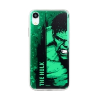 Kryt MARVEL pro Apple iPhone Xr - Hulk - gumový