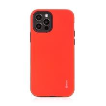 Kryt ROAR Rico pro Apple iPhone 12 / 12 Pro - odolný - plastový / gumový - červený