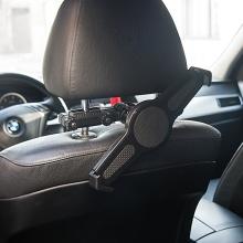Univerzální 360° otočný držák do auta na opěrku pro Apple iPad a jiné tablety velikosti 9-11