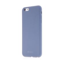 Kryt MERCURY pro Apple iPhone 6 Plus / 6S Plus - silikonový - příjemný na dotek - šedý