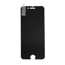Tvrzené sklo (Tempered Glass) pro Apple iPhone 7 Plus / 8 Plus - 2,5D okraj - na přední část - privacy / antispy - tmavé 0,3mm