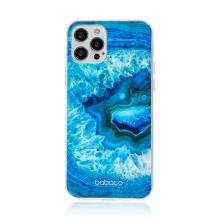 Kryt BABACO pro Apple iPhone 12 / 12 Pro - gumový - akvamarín