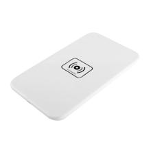 Bezdrátová nabíječka / nabíjecí podložka Qi - velká - plastová - bílá