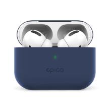 Pouzdro / obal EPICO pro Apple AirPods Pro - silikonové - tmavě modré