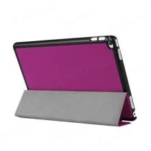 Pouzdro / kryt pro Apple iPad Pro 12,9 - integrovaný stojánek - umělá kůže - fialové