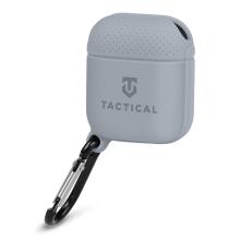 Pouzdro / obal TACTICAL pro Apple AirPods - karabina - silikonové - šedé