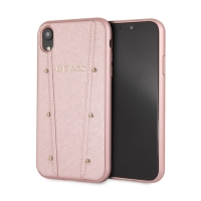 Kryt GUESS Kaya pro Apple iPhone Xs Max - plastový / umělá kůže