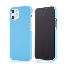 Kryt pro Apple iPhone 12 mini - plastový - měkčený povrch - světle modrý