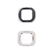 Kovový rámeček tlačítka Home Button pro Apple iPhone 6 / 6 Plus - černý (Black)