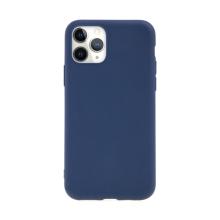 Kryt pro Apple iPhone 11 Pro Max - gumový - tmavě modrý