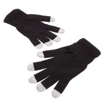 Dotykové rukavice - černé