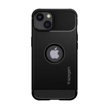 Kryt SPIGEN Rugged Armor pro Apple iPhone 13 mini - gumový - černý